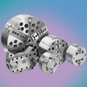 Multi-Spindle Chucks available in various styles for specific processes.