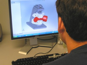 "Solid Works"" Software permits 3-D dimensional viewing...plus,  clearer definition of work holding products and work areas."