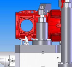 "Hydraulic Housing Fixture - A specially designed Hydraulic Fixture Concept  produced as a result of applying workholding solutions gained from informative ""Special Workholding Fixtures"" and ""Custom Workholding "" editorials featured on the newly upgraded Royal Machine Website."